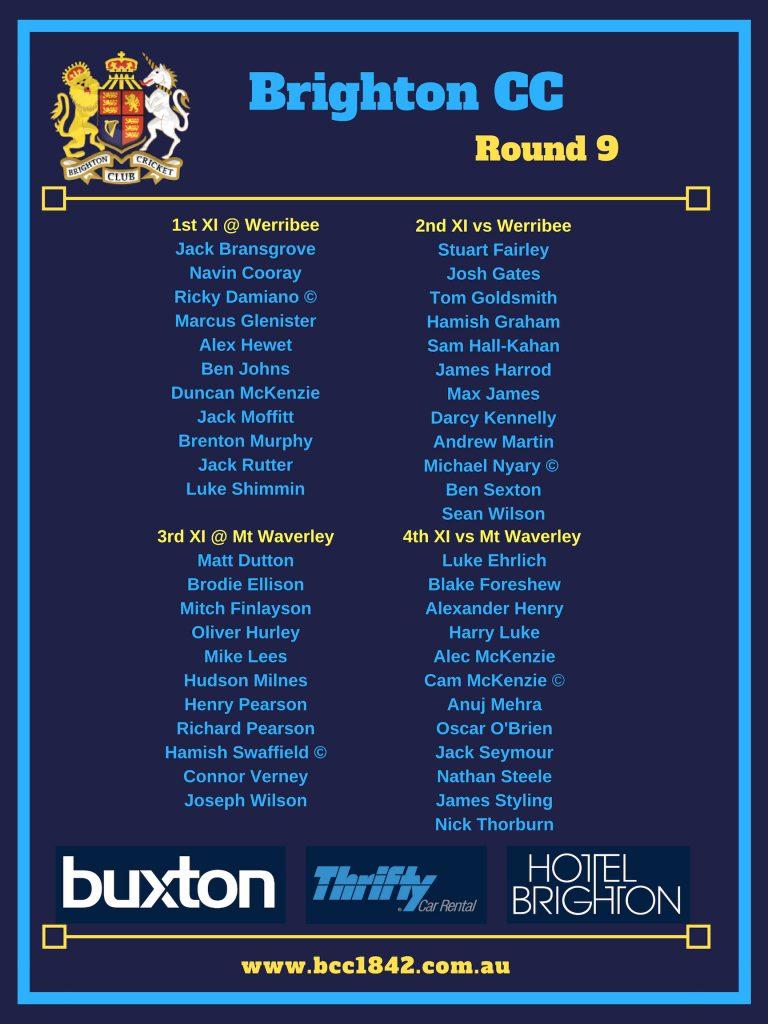 Teams Round 9